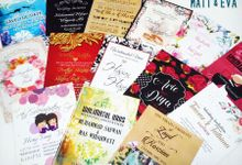 Customized Invitation Cards by Matt & Eva
