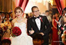 The Wedding of Naomi & Frenky by TEMPHOTOWORKS