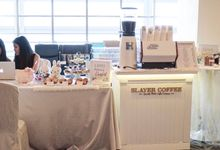 Set-up Design by Slayer Coffee - A Mobile Coffee Cart