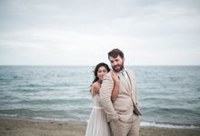 Rustic Beach Wedding by Big Bliss Weddings