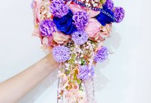 Alice in Wonderland Bouquet by Cup Of Love Design Studio