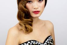 Exquisite Vintage Elegance by Sylvia Koh Makeup and Hairstyling