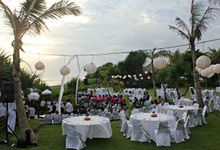 The Wedding of Faldo and Sharleen by WakaGangga Resorts