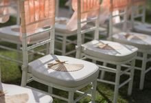 Beach wedding ceremony & Intimate dinner by Birdcage Works