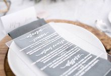 The Wedding of Michael and Stephanie by Pi Calligraphy