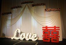 WEDDING AT MARINA BAY SANDS by Pedestalworks