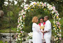 AURELIE AND WILLY WEDDING CEREMONY by Vilia Wedding Planner