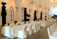 VENUE SETTING by Chijmes Hall by Watabe Singapore Pte Ltd