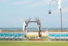 Rustic Wedding Ceremony by Vilia Wedding Planner