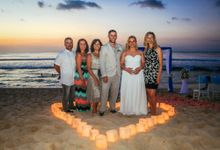 Wedding at Balangan Beach by Bali Exotic Wedding Organizer