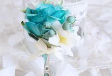 Paris in Blue by Cup Of Love Design Studio