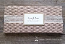 Rustic Collection by White Cherry Invitations