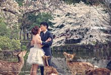 JAPAN Pre-Wedding Photography by John Lim by John Lim Photography