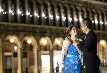 Venice & Rome Pre-Wedding Photoshoot by Stephy Ng Makeup and Hair