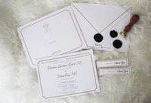 Chris & Fiona Wedding Invitation by Paperstory