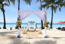 Beach Wedding at The District Boracay by The District Boracay