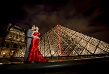 Paris Pre-Wedding Photoshoot by Stephy Ng Makeup and Hair