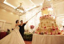 Wedding of Chandra & Mesi by Royal Ballroom The Springs Club