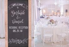 Daniel & Gerlinde Wedding 2016 by Bearland Paradise Resort - Casa Blanca Convention Hall