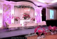 Fushia & White Romantic Wedding by Jonquilla Decor
