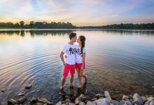 Lower Pierce Reservoir Pre-Wedding Shoot by GrizzyPix Photography