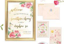 Floral Luncheon - Jon & Daphne by Spick Studio