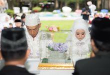 Wedding Rara & Itang by LZ Service
