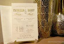 Barry & Kathleen by Printsonalities