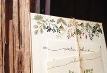 Backyard Garden by Kiyo Cards and Favors