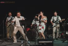 WEDDING OF R & P AT THE SAHITA by LOVA BAND ENTERTAINMENT BALI