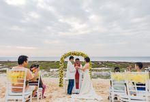 Dixon and Cindy by Bali Exotic Wedding Organizer