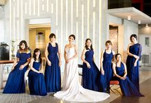 Midnigt Blue Themed Wedding of Callalily Drumer  in Fernwoods Quezon City by NQ Modern Photography