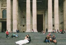 Chee Yoong & Won Hwei Engagement Portrait by MJKphotography