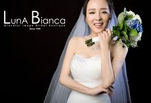 Ever green  by Luna Bianca Graceful Image Bridal Boutique