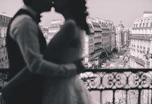 Yori & Jin Engagement Portrait by MJKphotography