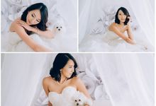A White Wedding Styled shoot by TangYong Hair & Makeup