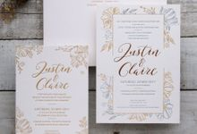 Justin & Claire by The Fine Press