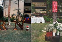 Rio & Nina's Rustic Garden Party by Peach Theory Decor + Design