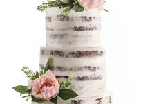 Wedding cake by Bakerzin