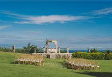 Siska and Hichem Wedding at Karang Putih Villa by Oma Thia's Kitchen Catering