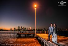 Oversea Wedding Artwork - Perth Australia by The Forever Films