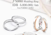Promo Cincin Kawin 5jt V&Co Jewellery by V&Co Jewellery