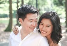 Couple Photoshoot (SJ + Iggy) - Intimate, Natural, Nothing over the top by Sylvia Koh Makeup and Hairstyling
