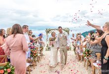 Sarah and Robert wedding at Aava Resort at Khanom by BLISS Events & Weddings Thailand