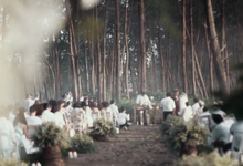 Enchanting Woods Wedding Ceremony by Wishing Well