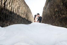 Fence & Indri by Michelle Ann Bridal House