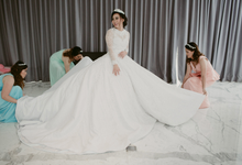 The Wedding of Clarissa & Joshua by THERESA & FEBE Couture