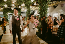 Second Wedding of Clarissa & Joshua by THERESA & FEBE Couture
