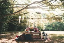 Boho Romance in the Woods by Keira Floral