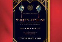 Oriental Gatsby - Shareen & Desmond by Spick Studio